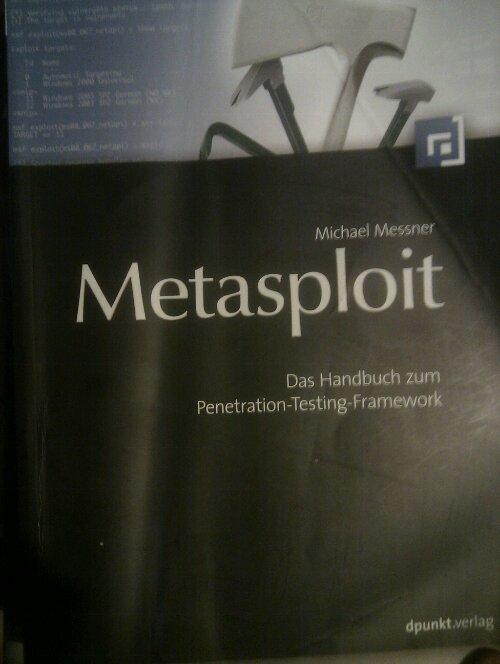 Ein weiteres Metasploit Buch