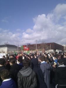 Anti Acta Demo Mannheim 25.02.2012 Schloßplatz 1
