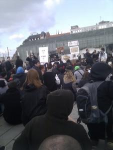 Anti Acta Demo Mannheim 25.02.2012 Abschluß alter Messplatz 1