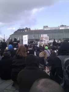Anti Acta Demo Mannheim 25.02.2012 Abschluß alter Messplatz 2