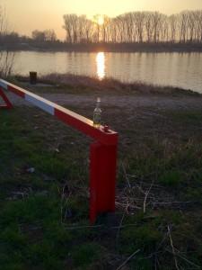 Bier am Rhein