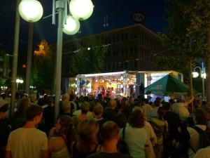 RNF Stand auf dem Mannheimer Stadtfest