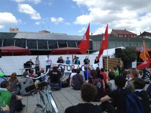 Abschlußreden auf der Anti-Acta Demo in Mannheim am 09.06.2012
