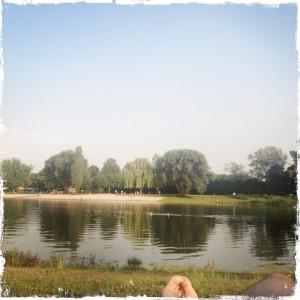 Badesee im Freibad Lampertheim 2012