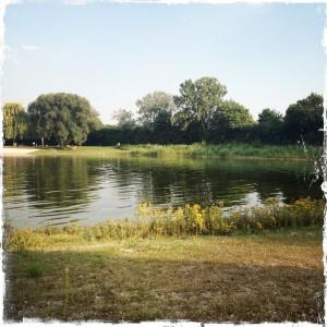 mehr Bilder vom Badesee im Freibad Lampertheim