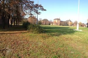 Hof der Turley Barracks in Mannheim aufgenommen am Turley Fest