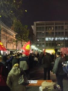 14N Gereralstreik soli Veranstaltung