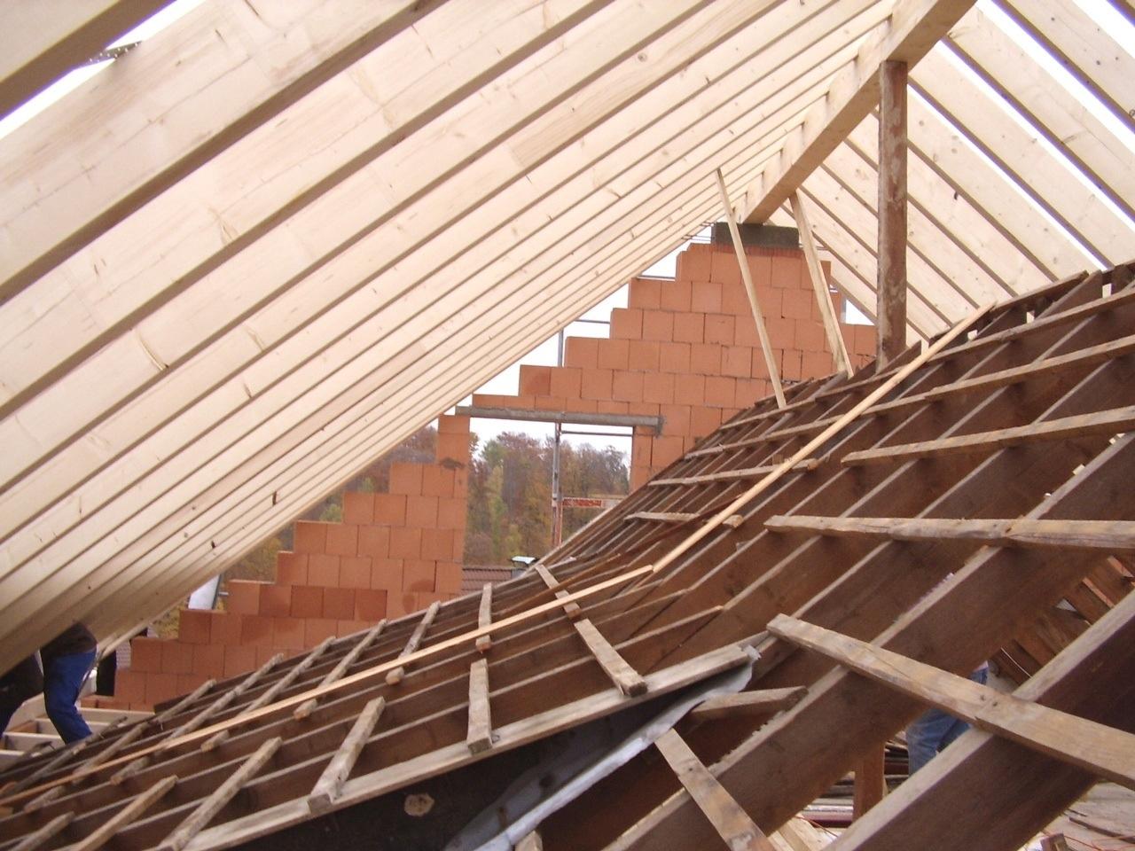 Dach im Dach, irgendwas stört da