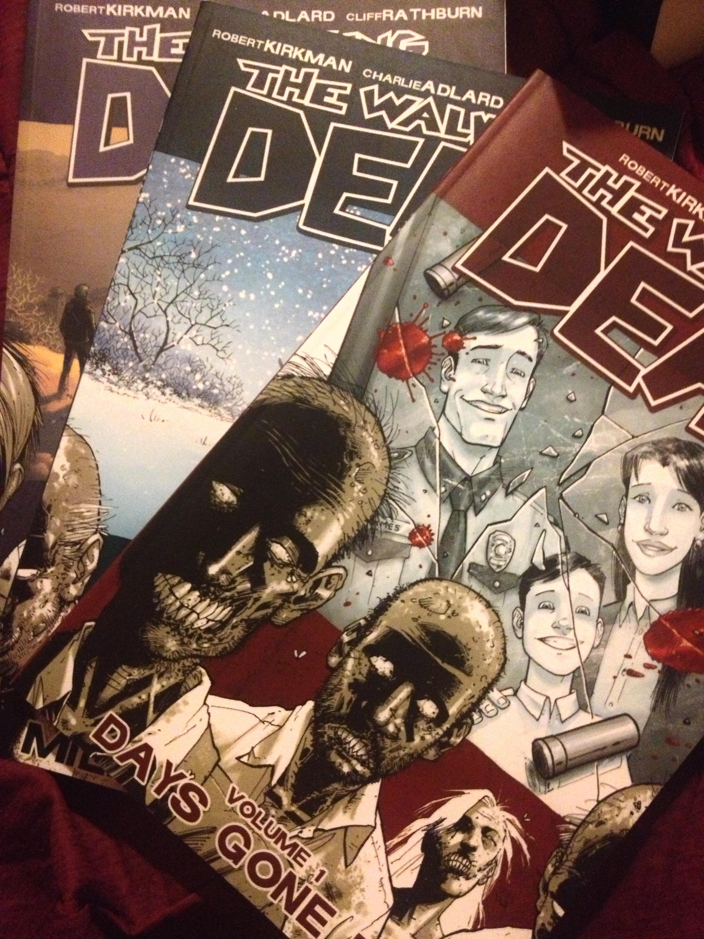 The walking Dead Comic 1-3