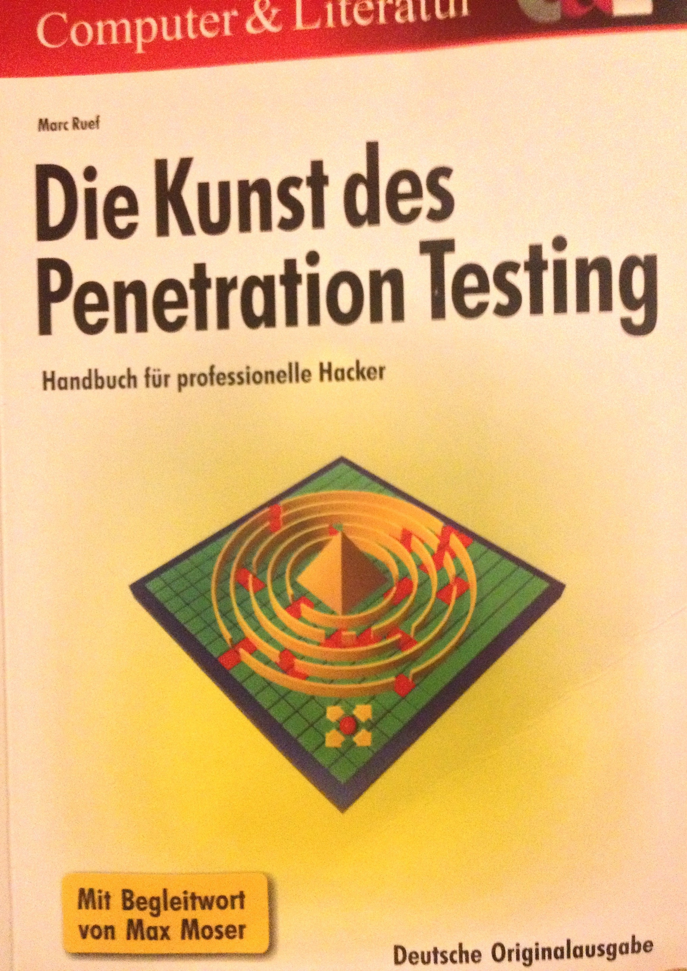 Buch: Die Kunst der Penetration Testing von Marc Ruef
