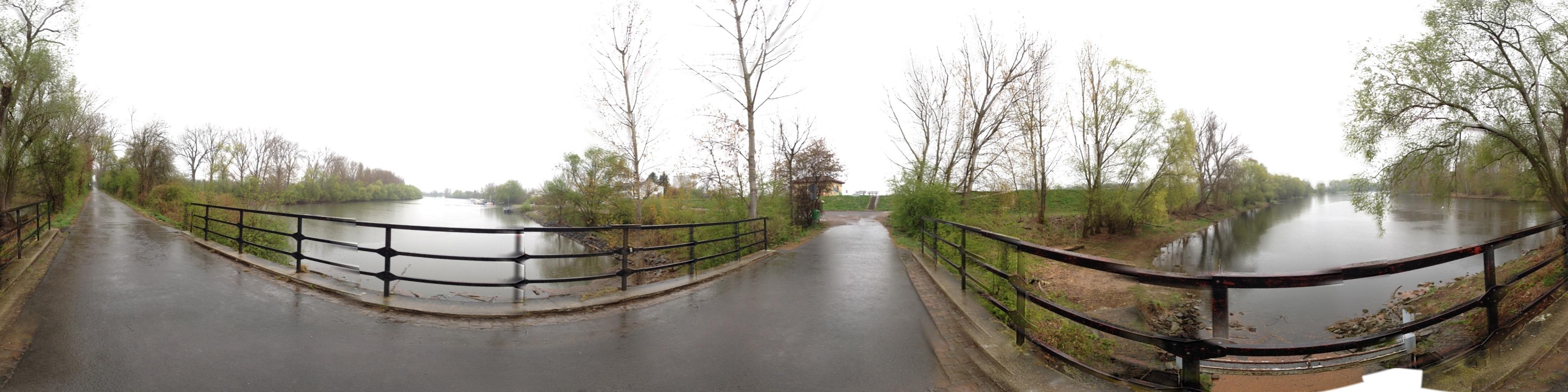 Biedensandbrücke am Ostersamstag zweiter Versuch