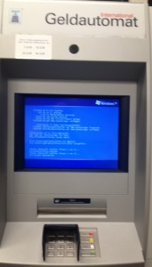 Geldautomat bei meiner Bank