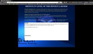 Introscreen der DE-ICE1.100 LiveCD