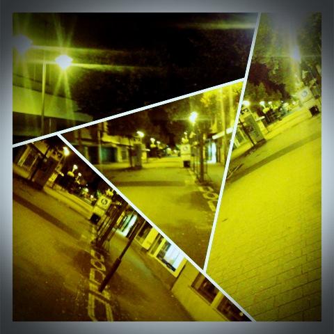 Lampertheim bei Nacht