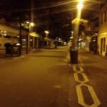Lampertheimer Kaiserstraße bei Nacht