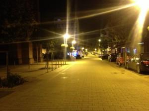 Nachts in Lampertheim