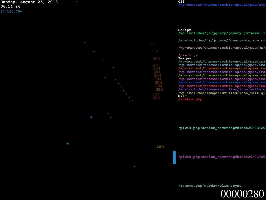 logstalgia Screenshot