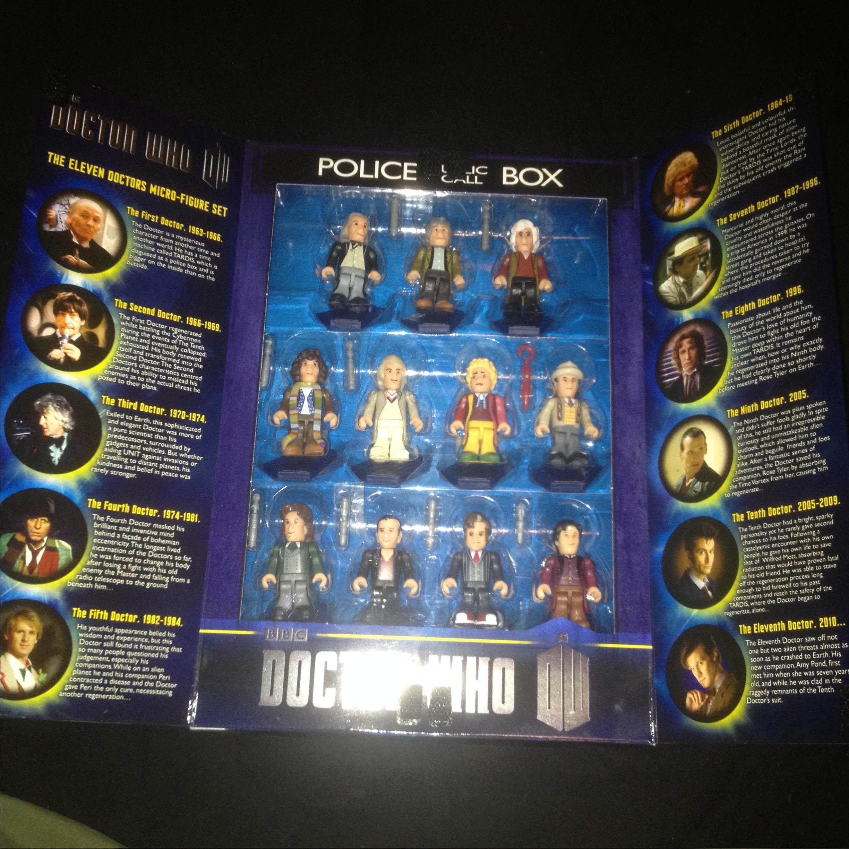 Doctor Who Firgurensammlung, alle Doktoren als Sammelfigur