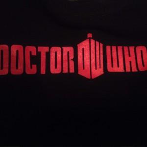 Doctor Who T-Shirt von Hinten
