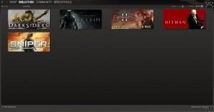 Ein Screenshot meines Steamclients