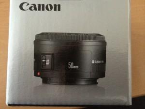 Mein neues 50mm Canon Objektiv