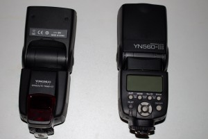 zwei YN560-III von Yongnuo
