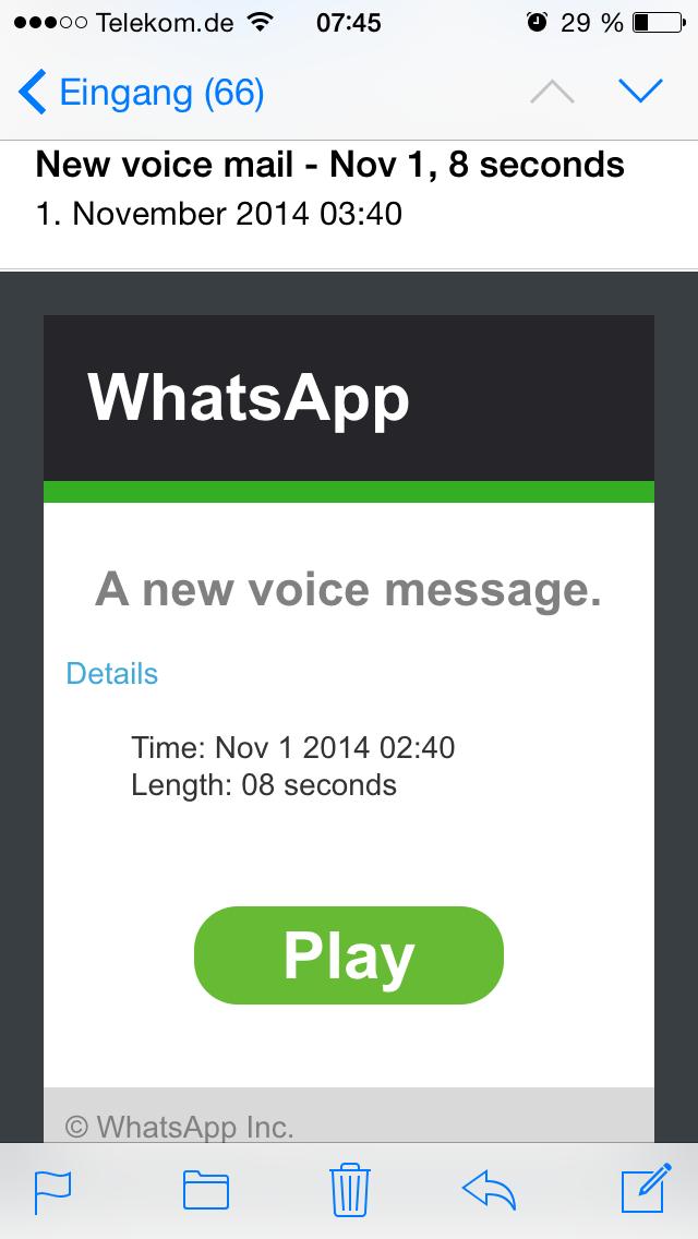 Whatsapp Spammail