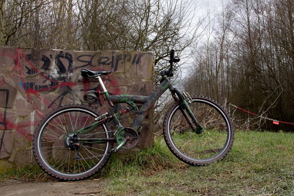 Nach langer Zeit ist mein Fahrrad jetzt wieder einsatzbereit.
