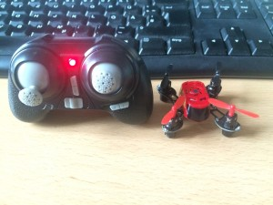 Mein neuer Mini-Quadcopter