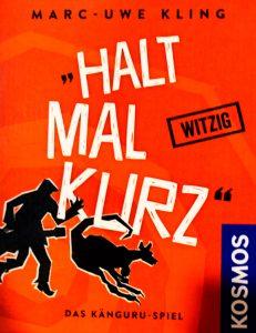 Halt mal kurz, das Kartenspiel nach den Buechern von Marc-Uwe Kling