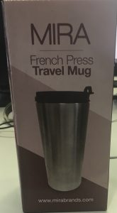 Isolierbecher mit eingebauter French Press