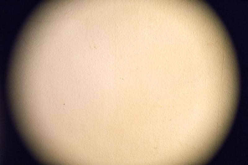 Meine Decke durch das 17-50mm Sigma am Vollformatsensor