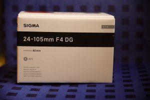 Mein neues Objektiv, das Sigma 24-105mm F4 DG OS Art, auf seinem Weg zu mir nach Hause