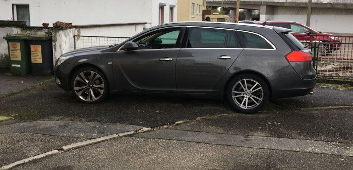 Mein Opel ist wieder Zuhause